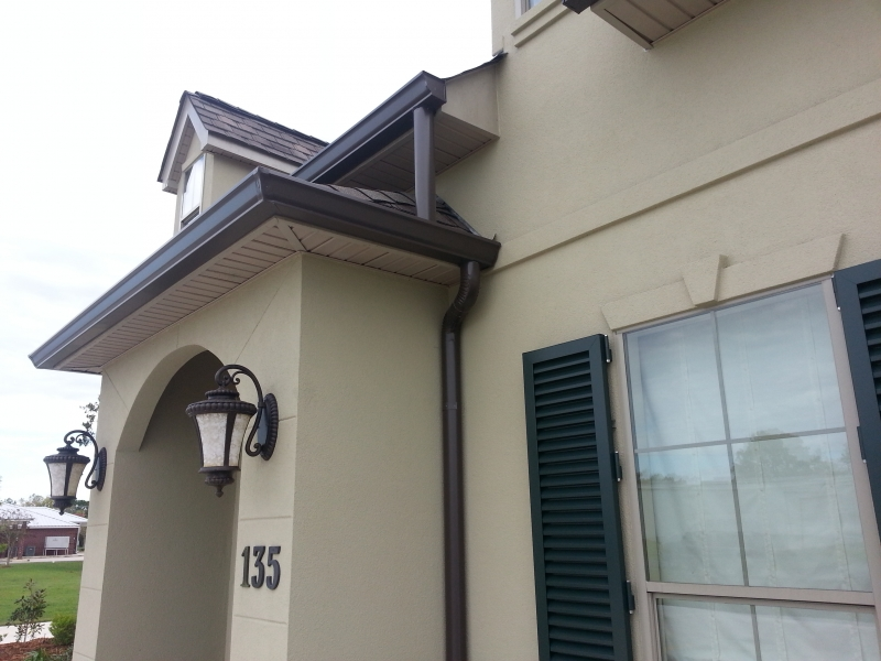 5″ & 6″ Seamless Gutters Copper