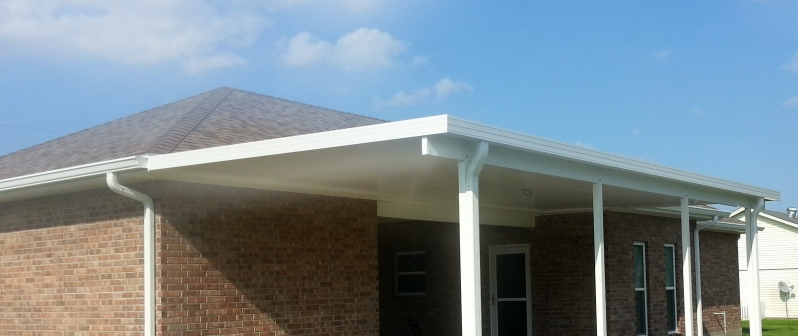 Patio covers, carports, and screen room