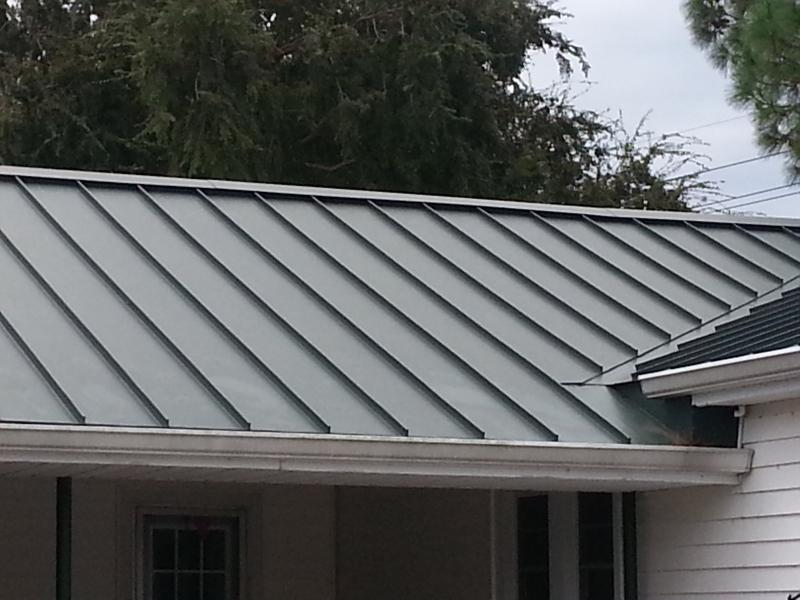 Metal Roofing Decra Standing Seam Larose La Rai